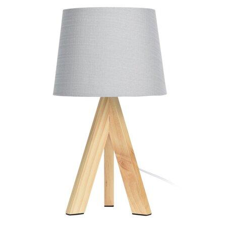 Stolní lampa Atalai, šedá