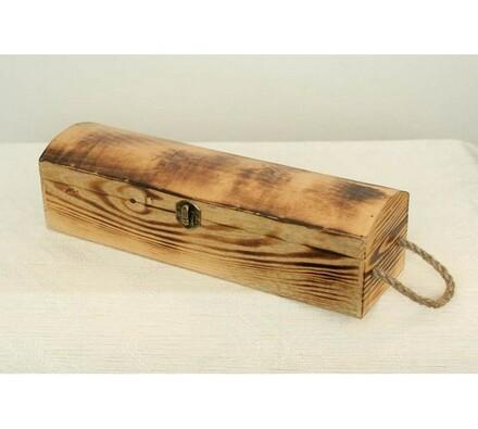 Dřevěný box na láhev