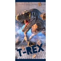 Tyrannosaurus Rex törölköző, 70 x 140 cm