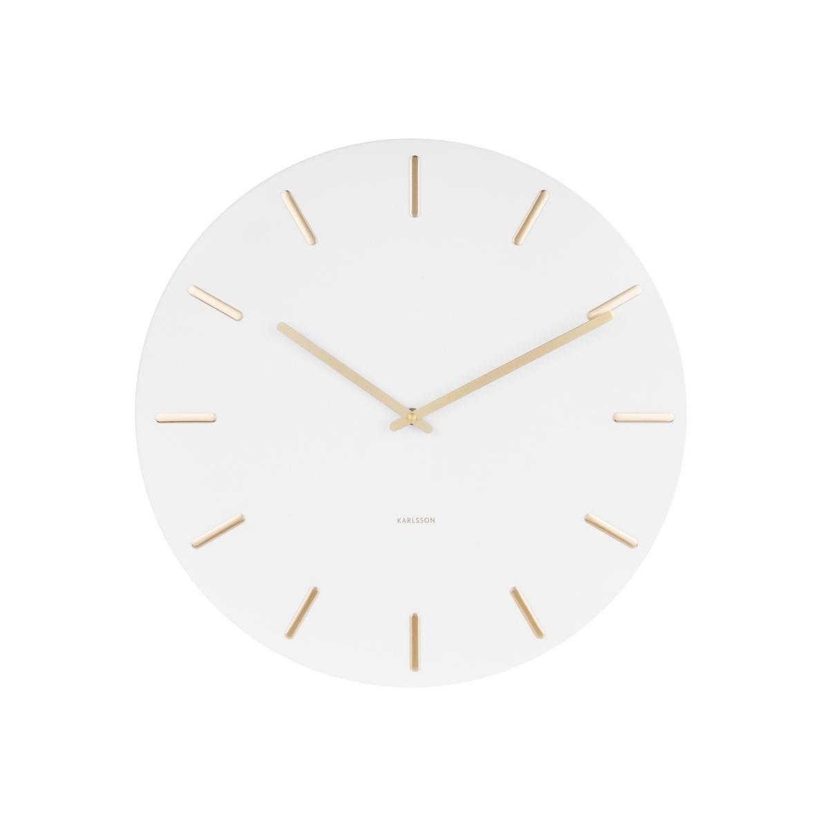 Karlsson 5716WH 45cm nástenné hodiny