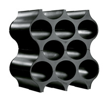 Suport sticle SET-UP negru