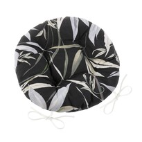 Pernă de scaun matlasată rotundă Ema Bambus, 40 cm