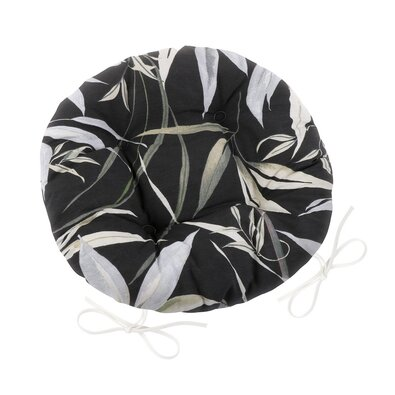 Sedák Ema kulatý prošívaný Bambus, 40 cm