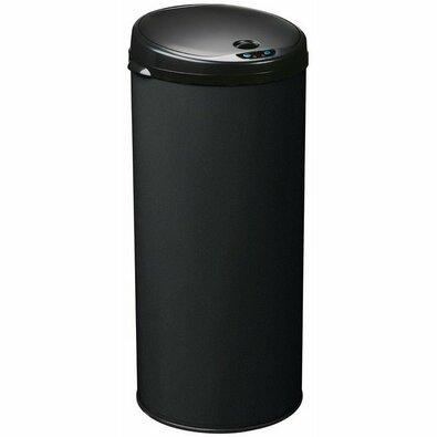 Rossignol Bezdotykový odpadkový koš Sensitive 45 l, čedičově černá