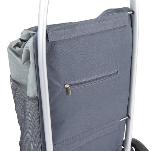 Nákupná taška na kolieskach Paris, sivá