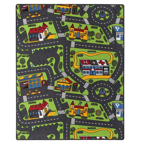 Dětský koberec City life, 95 x 200 cm
