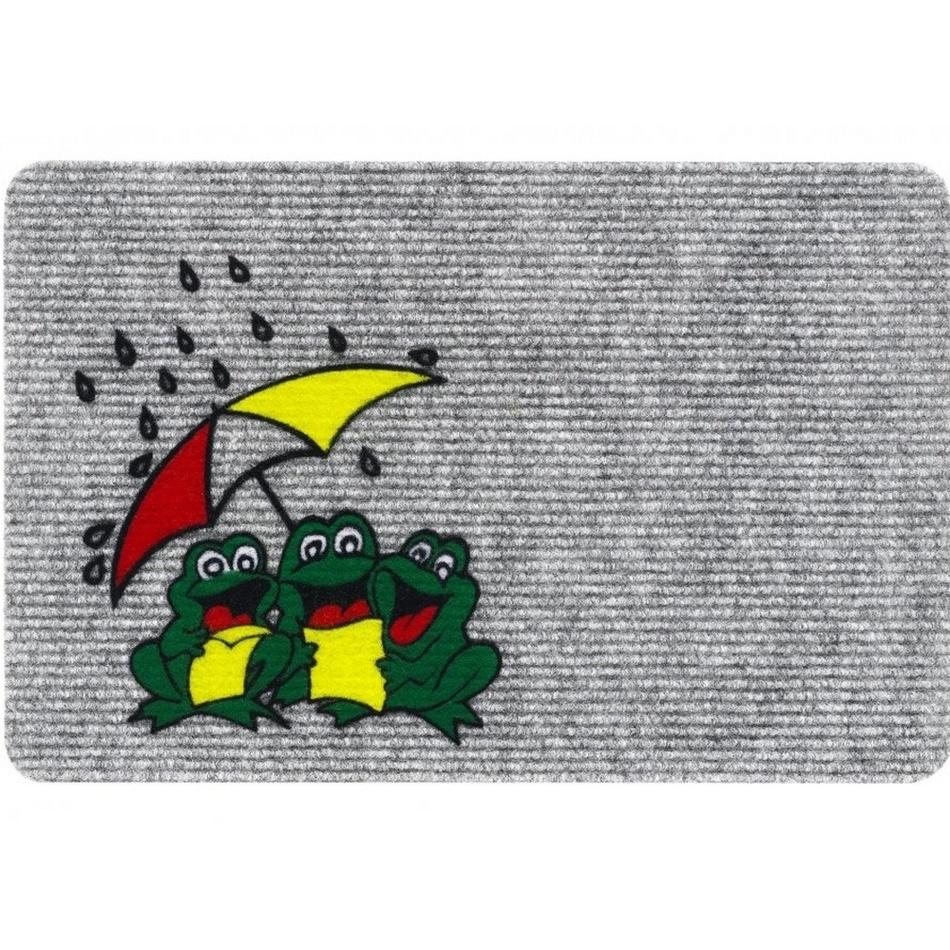 Vopi Wycieraczka wewnętrzna Flocky żaby 205/084, 40 x 60 cm