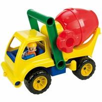 Lena betonkeverő autó figurával, 27 cm