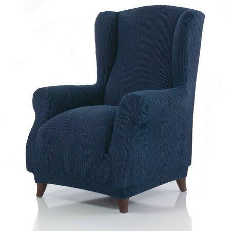 Cagliari multielasztikus füles fotelhuzat kék, 70 - 100 cm