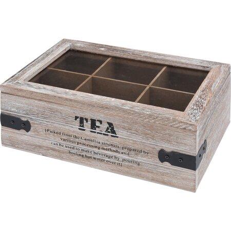 Tea teatasak tároló 24 x 16 x 9 cm