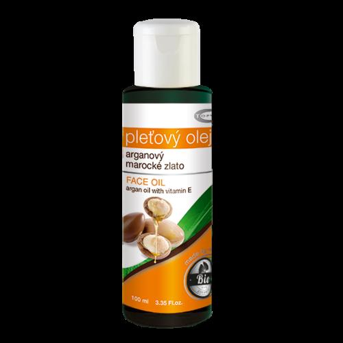 Topvet BIO Pleťový Arganový olej, 100 ml