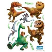 Decoraţiune adezivă Bunul Dinozaur, 30 x 30 cm