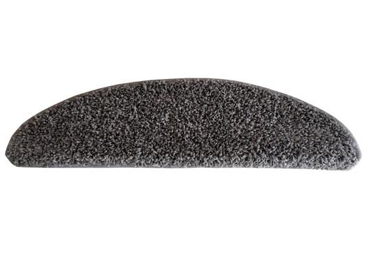 Nášlap na schody Color Shaggy šedá, 24 x 65 cm