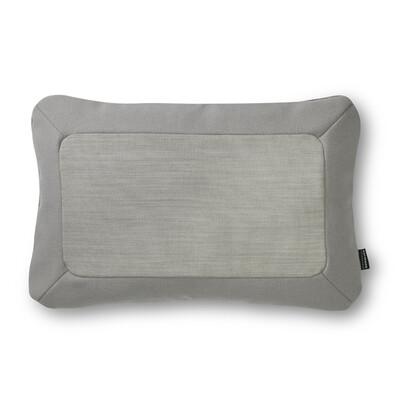Polštářek Frame 40 x 60 cm, světle šedý
