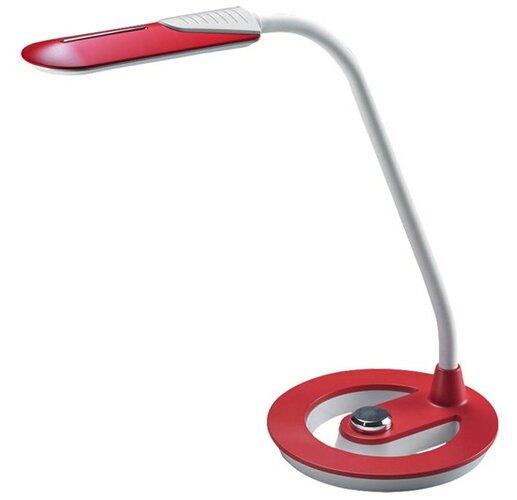 Solight Stolná lampička stmievateľná, červená,