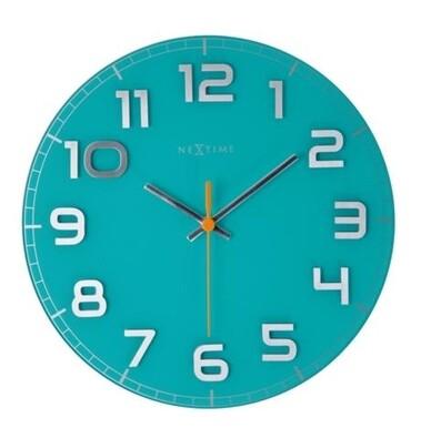Nextime Classy round  8817tq nástěnné hodiny