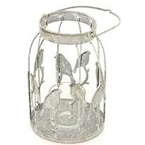 Svietnik na čajové sviečky Vtáčiky, 16 cm