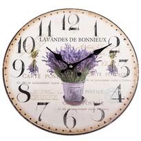 Zegar ścienny Lavandes de Bonnieux, 34 cm