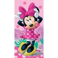 Prosop Jerry Fabrics Minnie pink 02, 70 x 140 cm