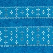 Ručník Vanesa tmavě modrá, 50 x 90 cm