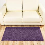 Kusový koberec Elite Shaggy fialová, 80 x 150 cm
