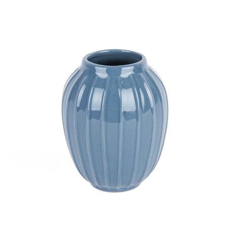 Elegatní váza Lilien modrá, 12 cm