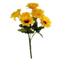 Buchet artificial Floarea soarelui, 37 cm