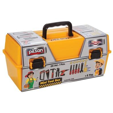 1ede91f2e7ee7 Pilsan Detský kufrík s náradím, 25 ks   4home - pohodlie domova