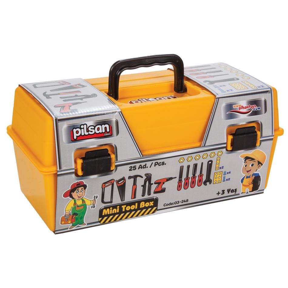 Pilsan Dětský kufřík s nářadím, 25 ks