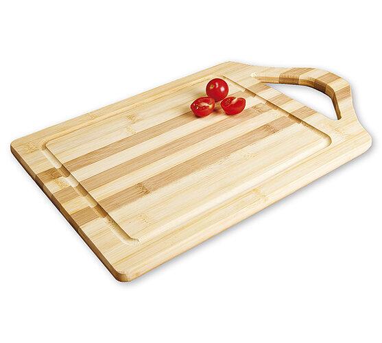 Bambusové prkénko s rukojetí
