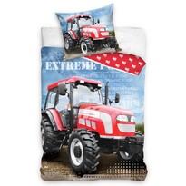 Bavlnené obliečky Traktor Extreme Power, 140 x 200 cm, 70 x 90 cm