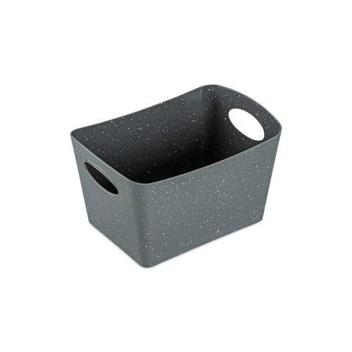 Koziol Úložný box Boxxx S Organic šedá, 1 l, 12,8 x 18,7 x 10,8 cm