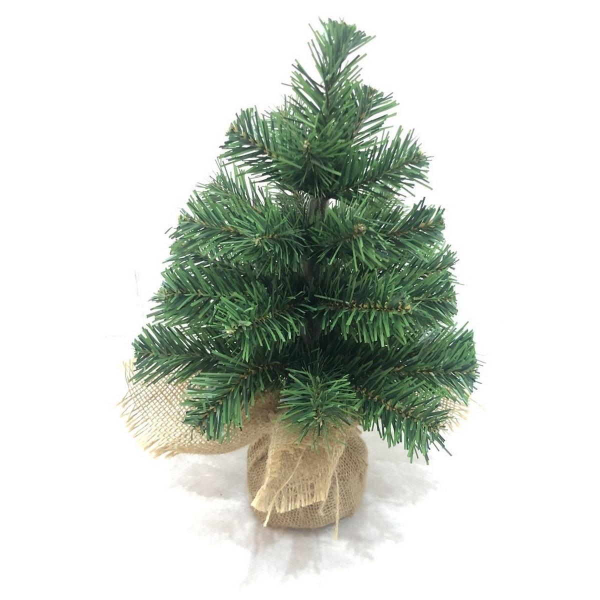 Stromek v jutě Tiga, 30 cm