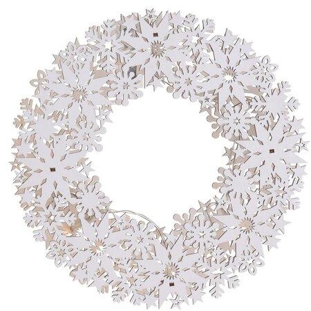 Koopman Salou karácsonyi függeszthető dekoráció, 28 x 27 cm