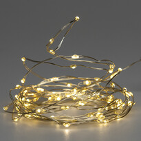 Koopman Drut świetlny Clarion 100 LED, ciepły biały