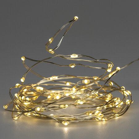 Světelný drát Clarion 100 LED, teplá bílá