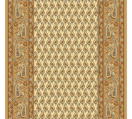 Kobercový běhoun Malaga béžový, 70 x 300 cm