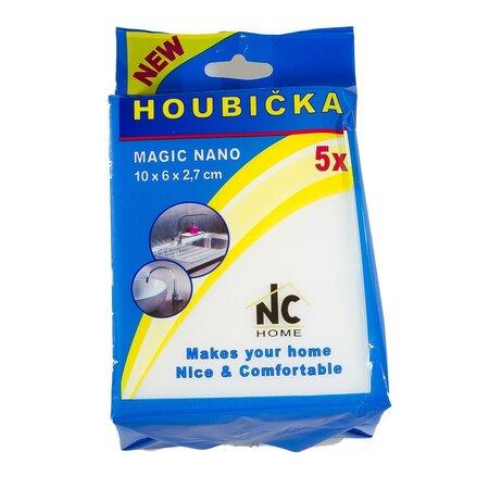 Hubka MAGIC NANO 10 x 6 x 2,7 cm, sada 5 ks