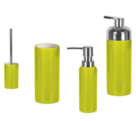 Kleine Wolke Kúpeľňová sada Pur Shiny zelená
