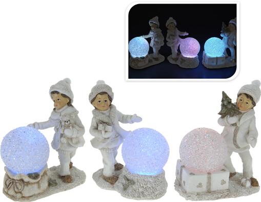 Svíticí LED koule