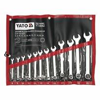 Yato YT-0062 Sada kľúčov očkoplochých 12 ks, 8 - 24 mm