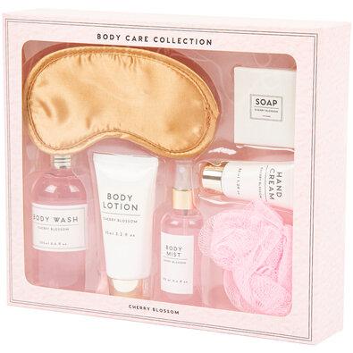 Set cosmetice cadou Body care Cherry blossom, 7 buc.