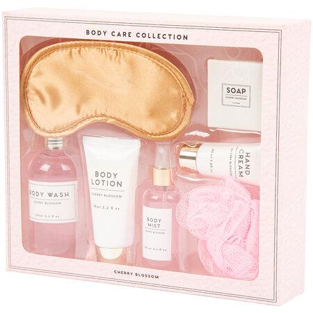 Body care Cherry blossom kozmetikai ajándékkészlet, 7 db