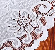 Žakárový ubrus Diana, 60 x 60 cm
