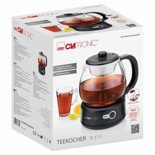 Clatronic TK 3715 teafőző, 1 l