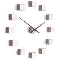 Future Time FT3000PI Cubic pink Designové samolepicí hodiny, pr. 50 cm