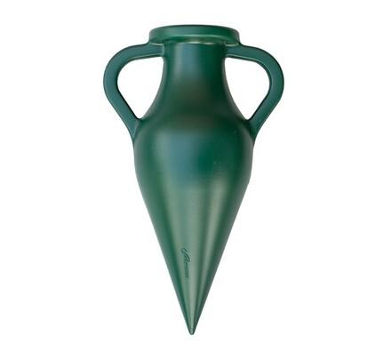 Hřbitovní váza zelená