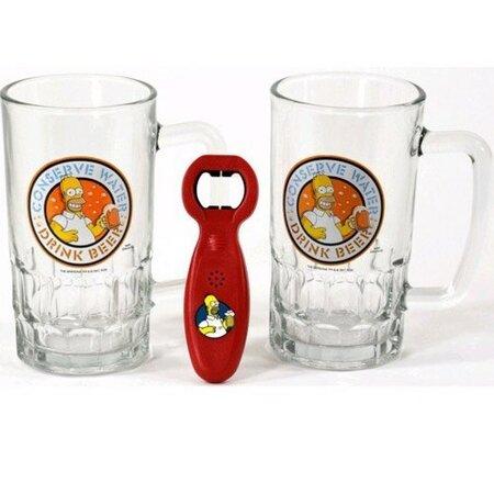 The Simpsons Dárkový set pivních sklenic Duff Beer 330 ml (107589) od www.4home.cz