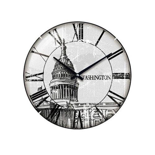 Nástenné hodiny Washington 31 cm