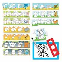 Headu Puzzle Step by Step Škola kreslenia 10x4 dieliky